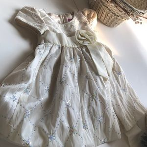 Other - Baby girl White snowflake Xmas dress 3-6 mo